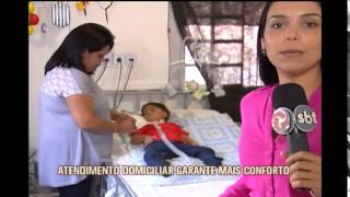Atendimento domiciliar aumenta conforto de pacientes com doen�as graves