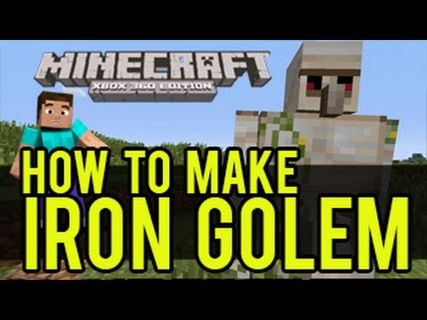 how to draw a minecraft iron golem