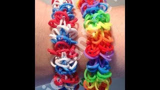 New Shagtastic Bracelet One Loom Rainbow Loom, Crazy