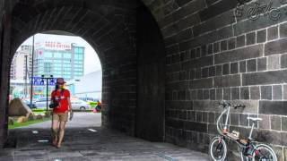 Let's瘋單車-用單車閱讀台灣 Part.002 (北門的匾額與城樓)