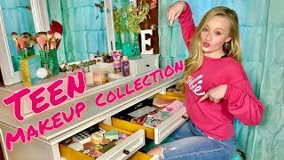 TEEN MAKEUP COLLECTION OF A 13 YEAR OLD | 2019