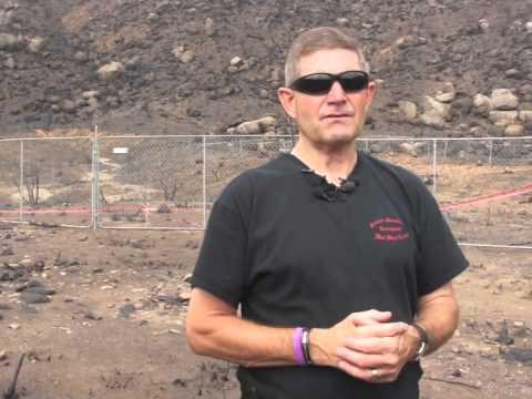Darrell Willis at Granite Mtn. Hotshot Deployment Site Pt 2