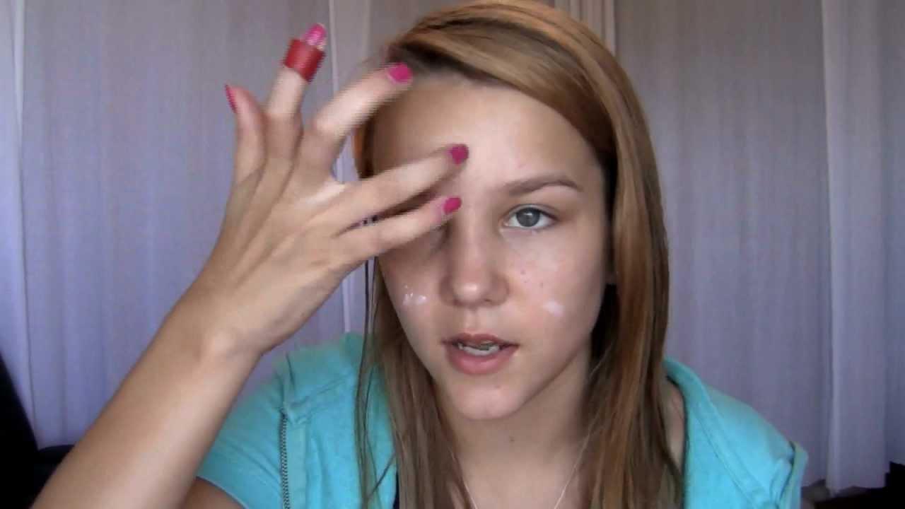 Back to school drugstore makeup look! (high school) - YouTube