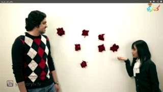 فيديو منو يرضى - عمر العمير و ريما العثمان قناة كنارى