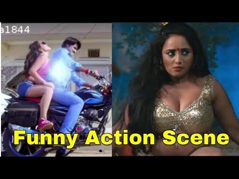 Funny action scene | Bhojpuri action scene Roast | Badtameez londa