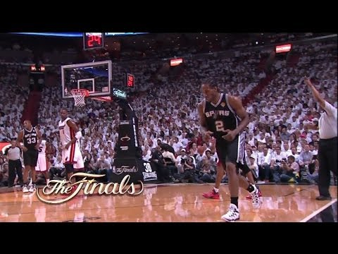 Kawhi Leonard Full Highlights Spurs vs Heat Game 3 (6/10/2014) Career-High 29 Pts - Project Spurs