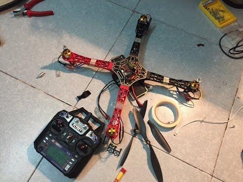 Hướng dẫn tự làm máy bay quadcopter