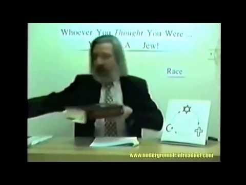 Caucasian Jew confesses the knowledge that the ORIGINAL JEWS are black! Mar 19, 2014