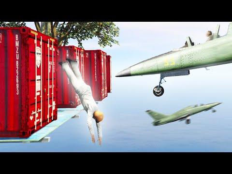 DEFEND THE PLATFORM! (GTA 5 Funny Moments)