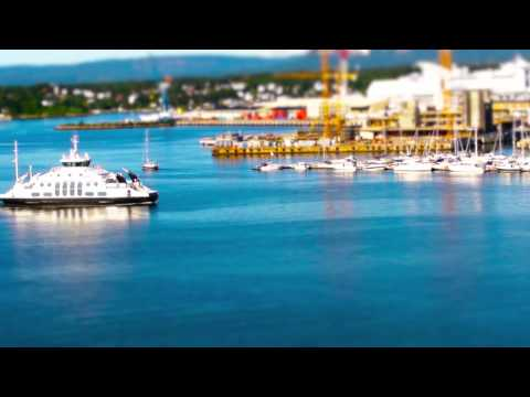 Mini Norway - a Tilt Shift Movie