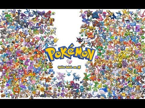 All 645 Pokemon in one video (POKEMARATHON promo)