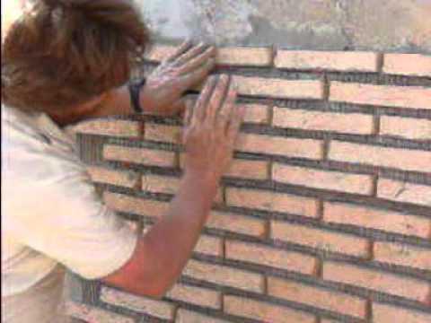 Fachada rustica youtube - Paredes imitacion piedra ...