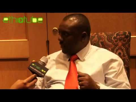 EthioTube interview with Ethiopias only opposition MP Girma Seifu in Washington DC   April 14, 2013