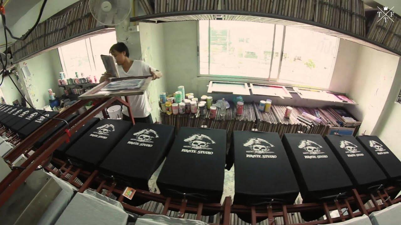T shirt factory thailand screen printing thailand thai t for T shirt printing thailand