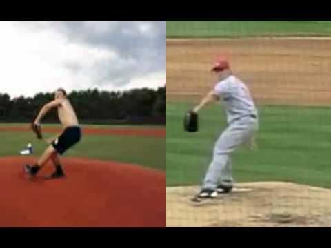 Homer Bailey Mechanics - Rotating Late into Front Foot Plant