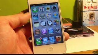 How To Unlock ANY IPhone 4S IOS 6.1.3/6.1.2/6.1/6.0/.6.0.1