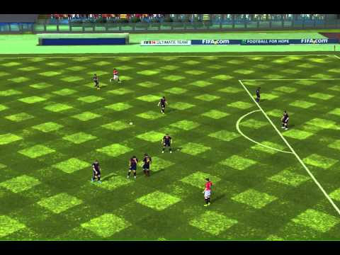 FIFA 14 iPhone/iPad - ANUNAKIS FC vs. FC Barcelona