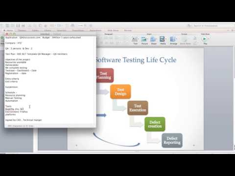 QA Manual Testing Training - Software TestingLife Cycle , Creating Test cases , levels of Testing - YouTube