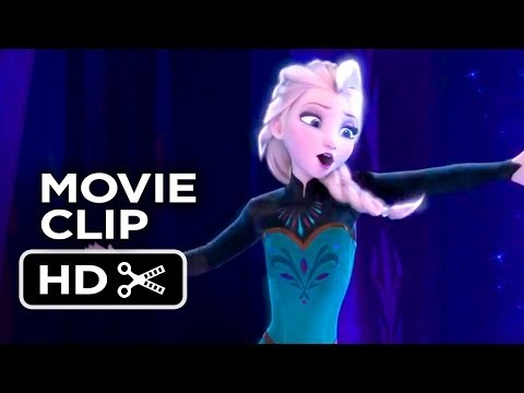 Frozen Movie CLIP - 'Let It Go' Song (2013) - Disney Princess Movie HD