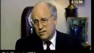 Dick Cheney on Iraq in 1994