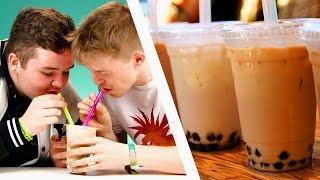 Irish People Taste Test Bubble Tea
