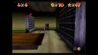 Super Mario 64 // Parte 7 // Casa Fantasma