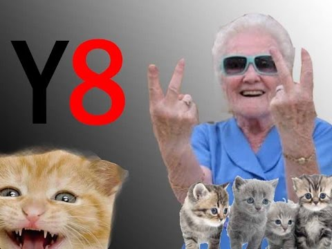 Y8 Gameplay NANNY LOVES CAT !!