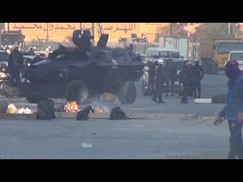 Bahrain uprising anniversary protests turn violent