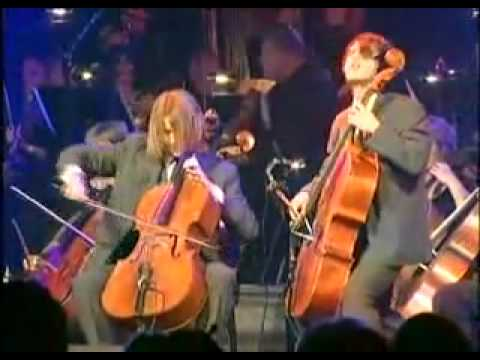 Final Countdown cello and orchestra ( am nhac & cuoc song )