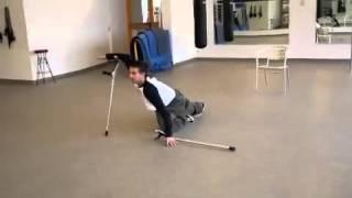 Người khuyết tật nhảy điêu luyện