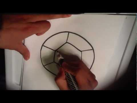 How to Draw a Soccer Ball - Easy Things to Draw