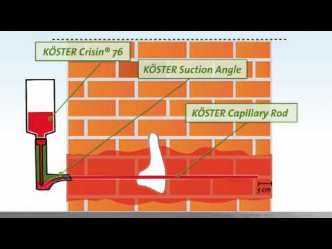 Koster - Koester - Rising Damp chemical DPC - damp proof course