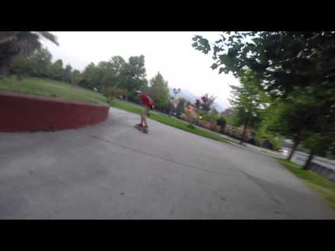 little runs with gopro