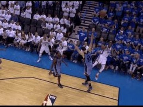 Kevin Durant makes most ridiculous clutch four point play