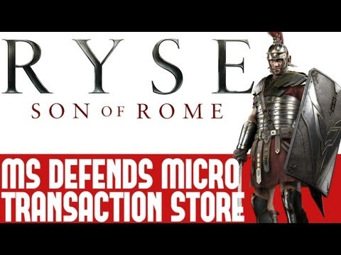 Ryse Son Of Rome News - Microsoft Responds To Backlash Over Micro Transaction Store - Thoughts