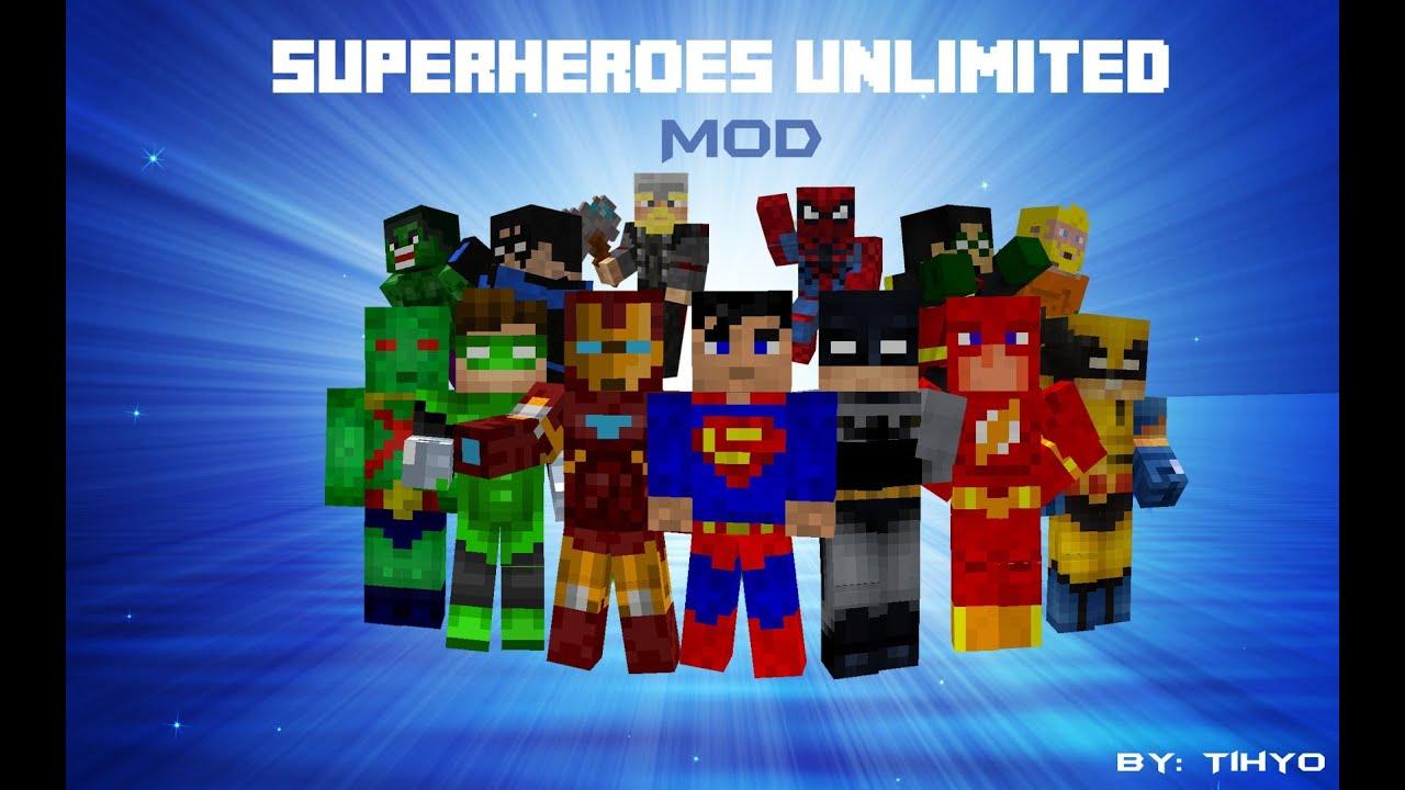 minecraft super hero armor mod