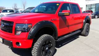 2013 Ford F-150 FX4 Leveled And Lifted Trucks Edwards