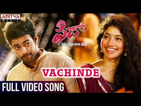 Fidaa-Movie-Vachinde-Full-Video-Song