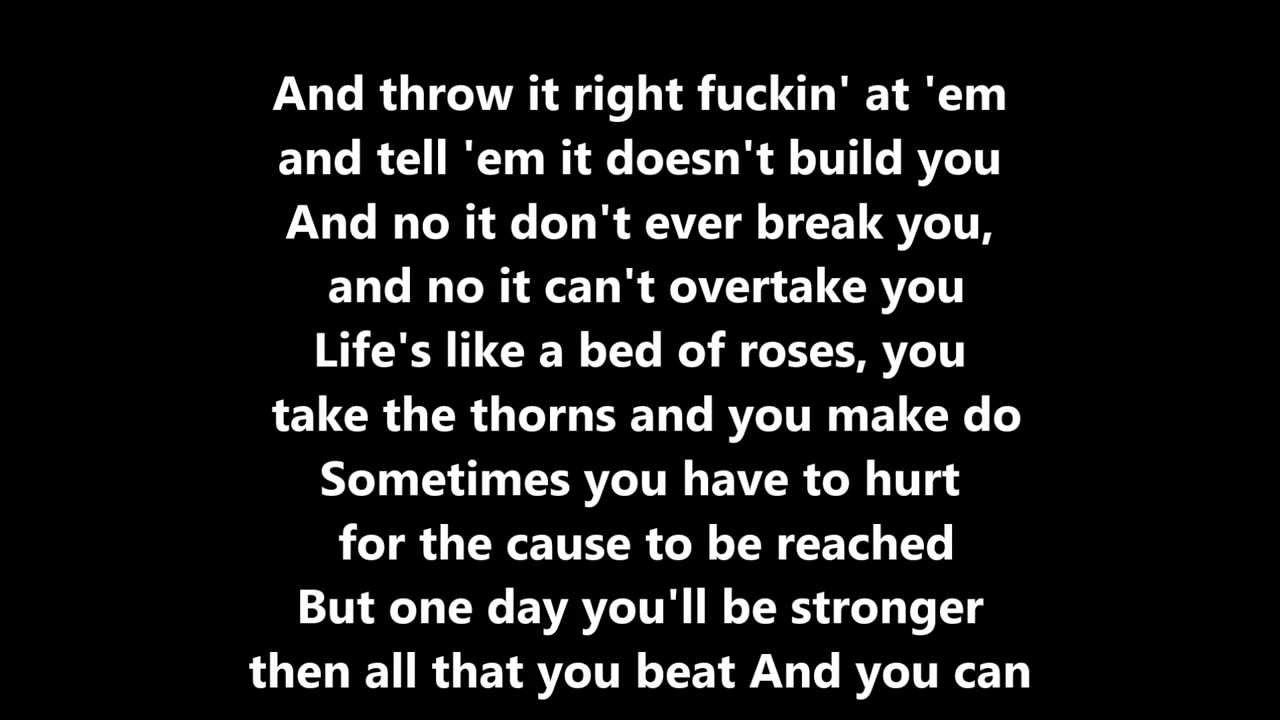 Angel Haze, Sia - Battle Cry (Lyric Video) - YouTube
