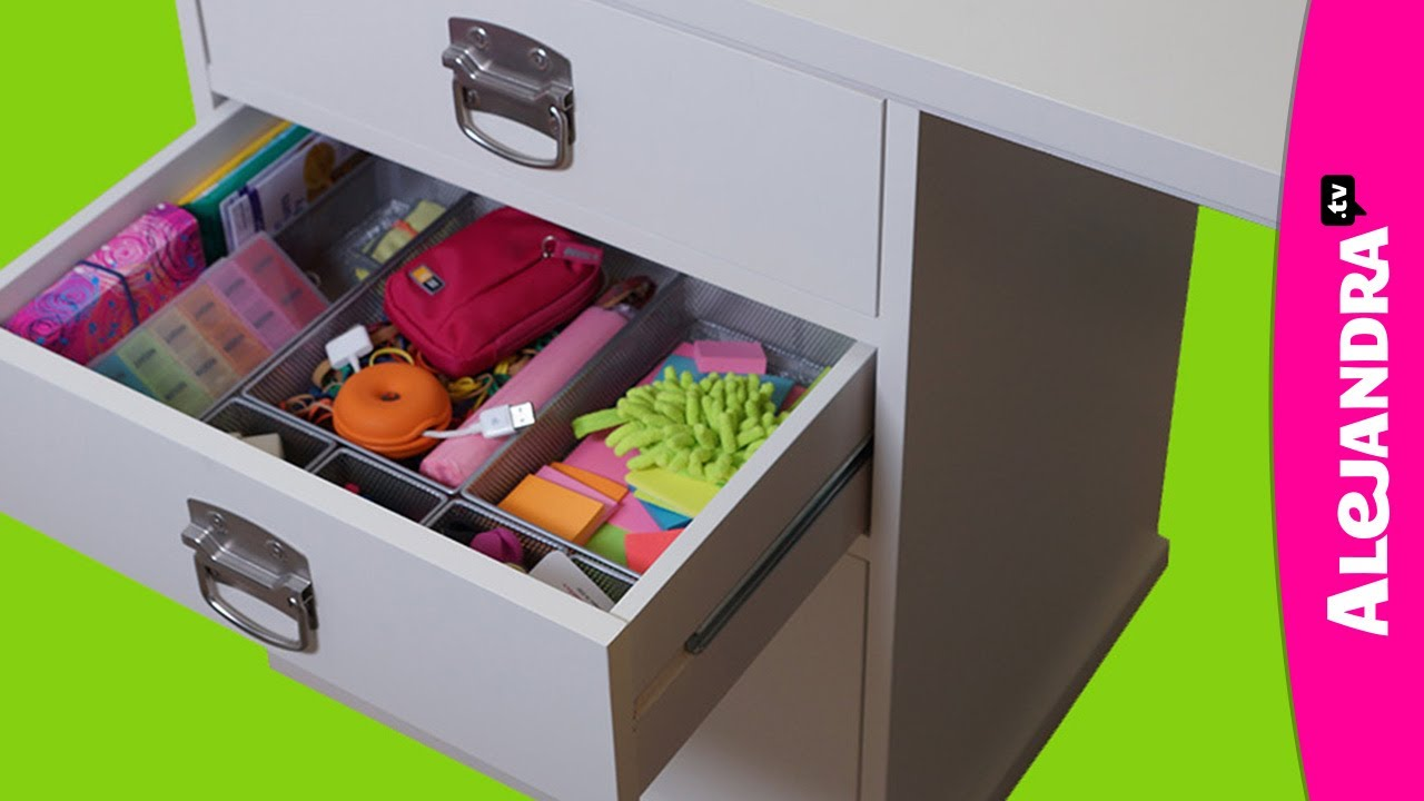 How to organize your desk drawers part 3 of 9 home office for How to organize house
