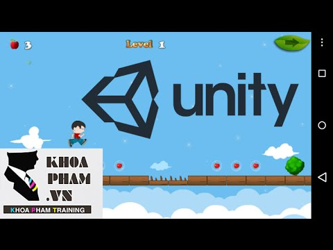 LẬP TRÌNH UNITY3D (GAME SPIDER CAVE) Bài 7: Tạo nền nhảy (Bouncy)