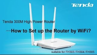 how to set up router using uni wifi