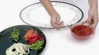 كيفية تقديم سمكة مقلية بالصلصة