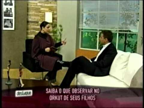 Antonio Borba fala sobre segurança nas Redes Sociais no Programa Destaque do SBT - 14/10/2010