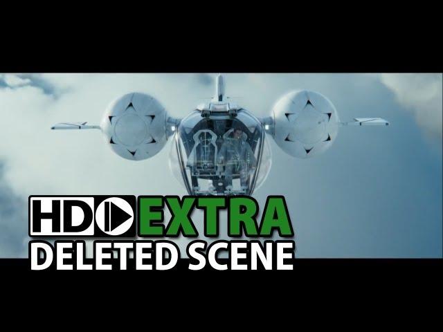 "Oblivion (2013) Deleted Scene ""bubbleship flyby"""