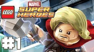 LEGO Marvel Superheroes 100% Guide Level 1 Sand