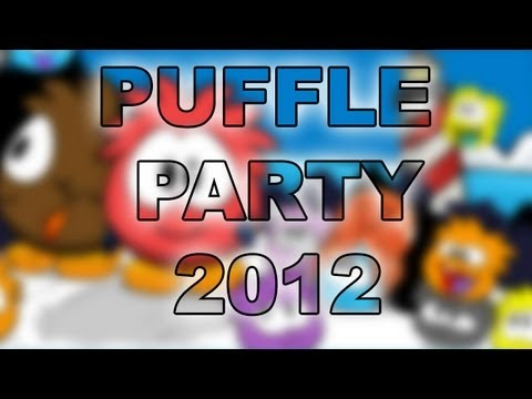 Club Penguin - Puffle Party 2012 (How to Become a Puffle)