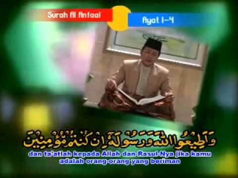 KH MUAMMAR ZA   SURAT AL ANFAL mp4 Part 1