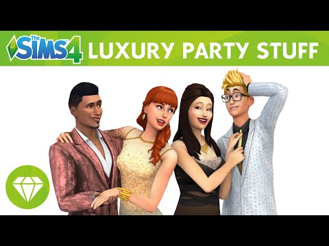 The Sims 4 Luxury Party Stuff: Official Trailer