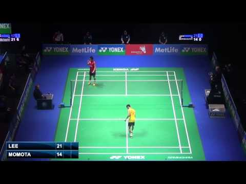QF - MS - Lee Chong Wei vs Momota Kento - 2014 All England Badminton Open